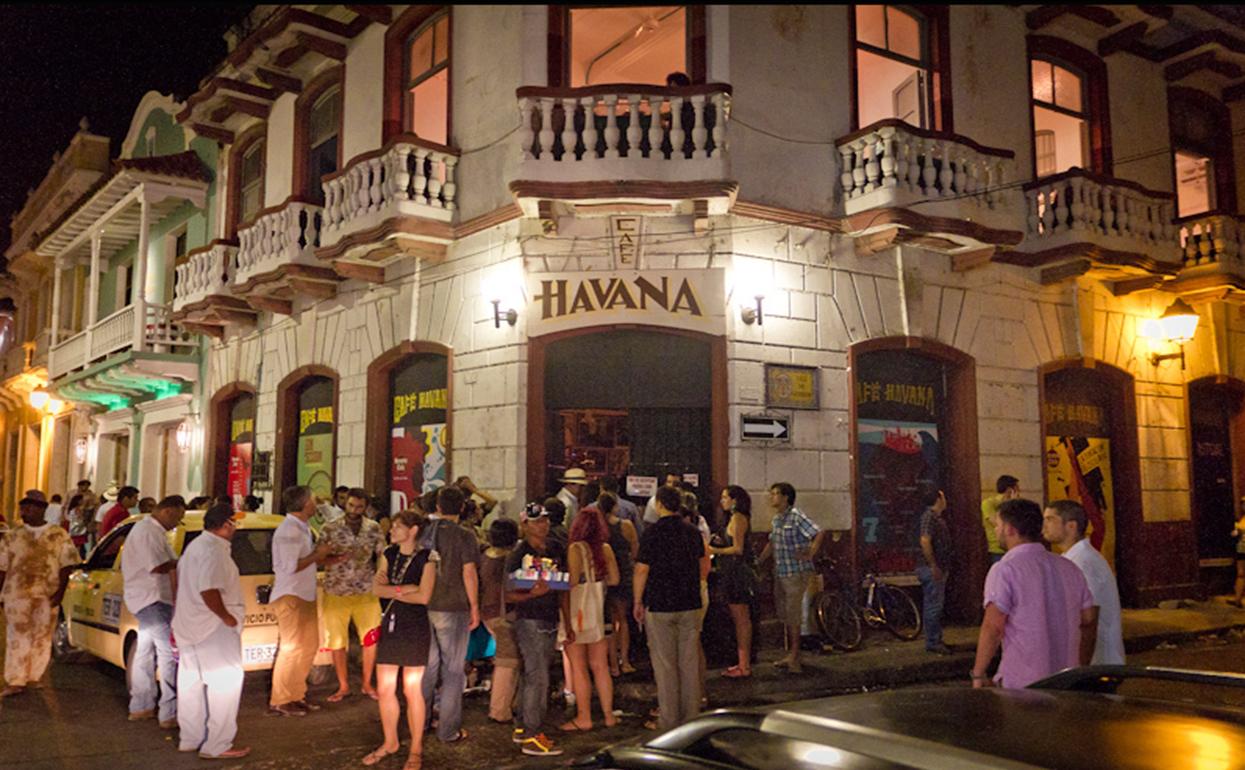 Cafe Havana em Cartagena
