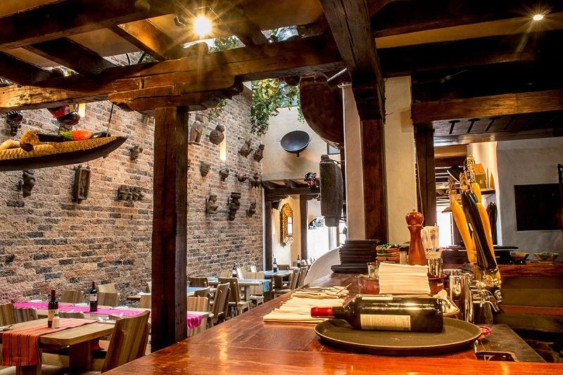Restaurante Chibchombia em Bogotá