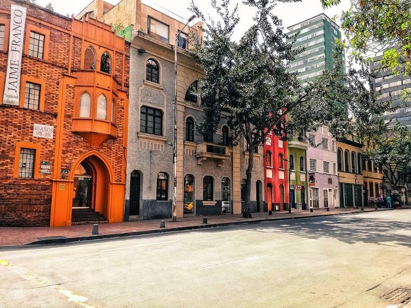 Bairro de La Macarena em Bogotá