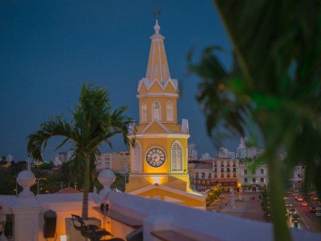 Torre del Reloj em Cartagena