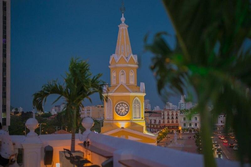 La Torre del Reloj em Cartagena
