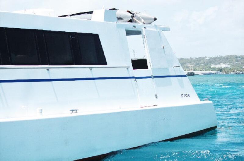 Ferry boat para viagens na Colômbia