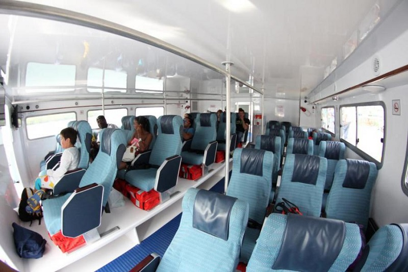 Viagens de ferries em San Andrés