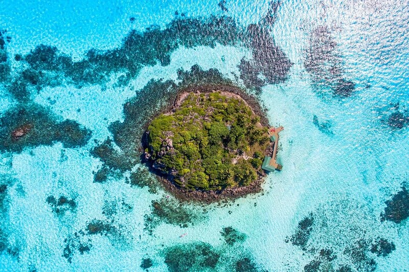 Ilha de Providência na Colômbia