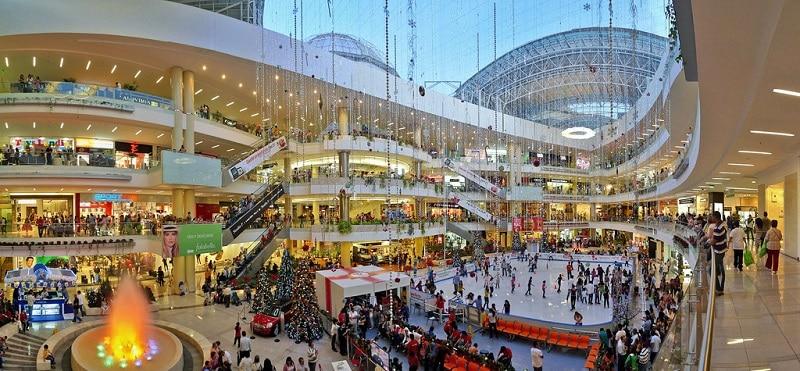 Shopping luxuoso em Medellín na Colômbia