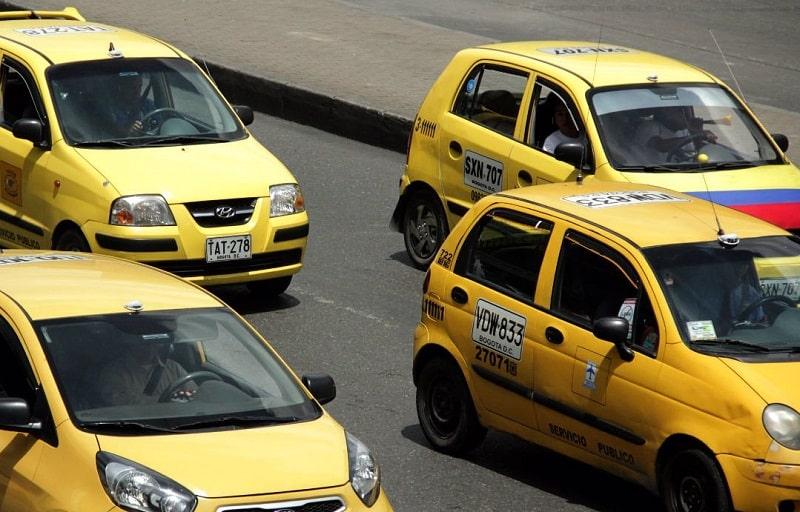 Táxi na Colômbia