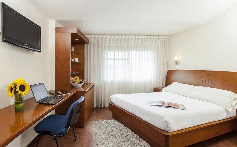 Hotel confortável em Bogotá - Colômbia