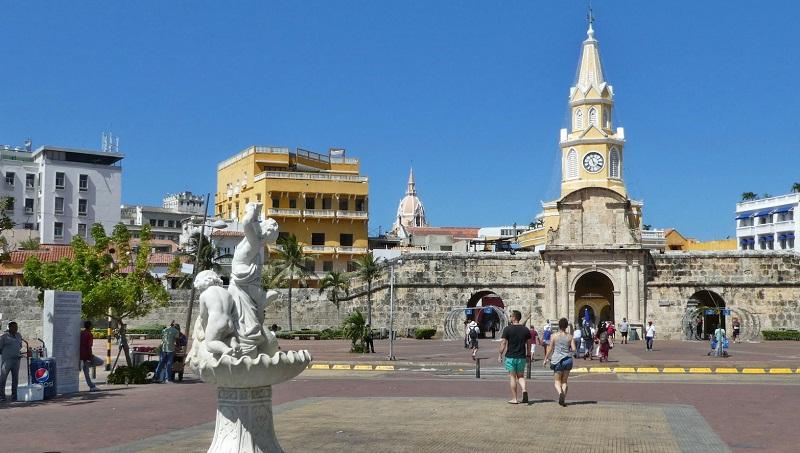 Passeio por Cartagena - Colômbia