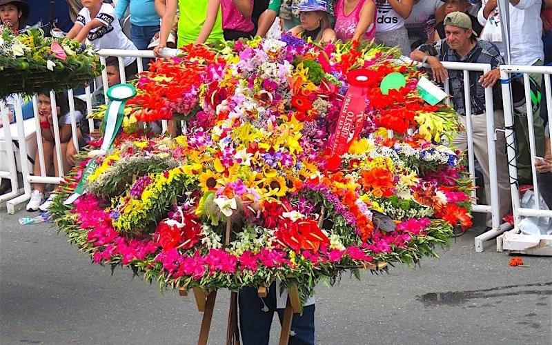 Feira das Flores em Medellín