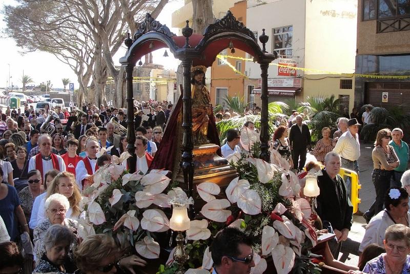 Festas de Padroeiro em San Andrés