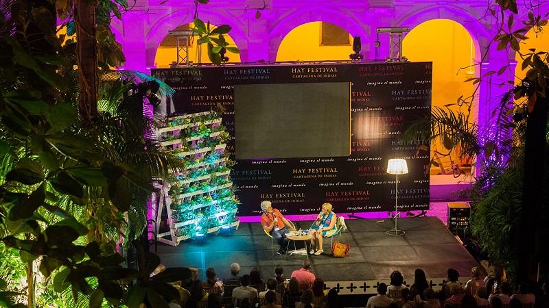 Hay Festival em Cartagena