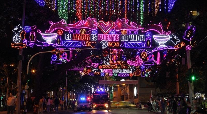 Natal em Medellín - Colômbia