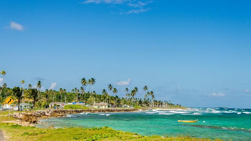 Cenário paradisíaco de San Andrés