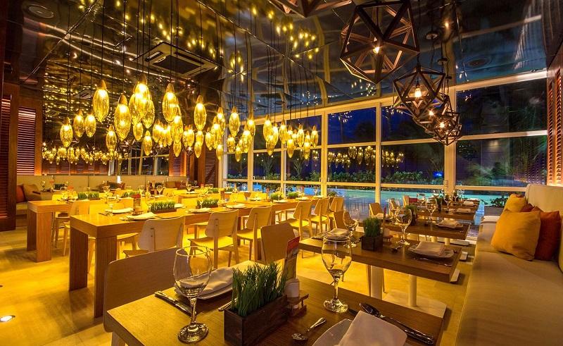 Restaurante de hotel Casablanca em San Andrés