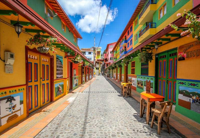 Ruela em Medellín