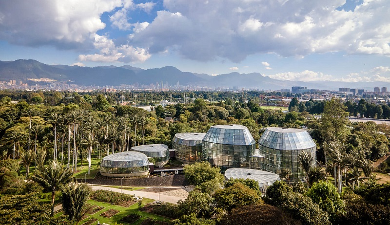 Jardim Botânico em Bogotá