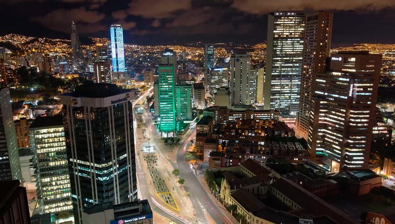 Vida noturna em Bogotá