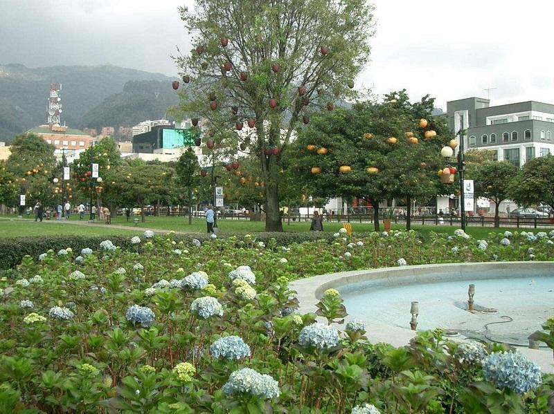 Parque 93 em Bogotá