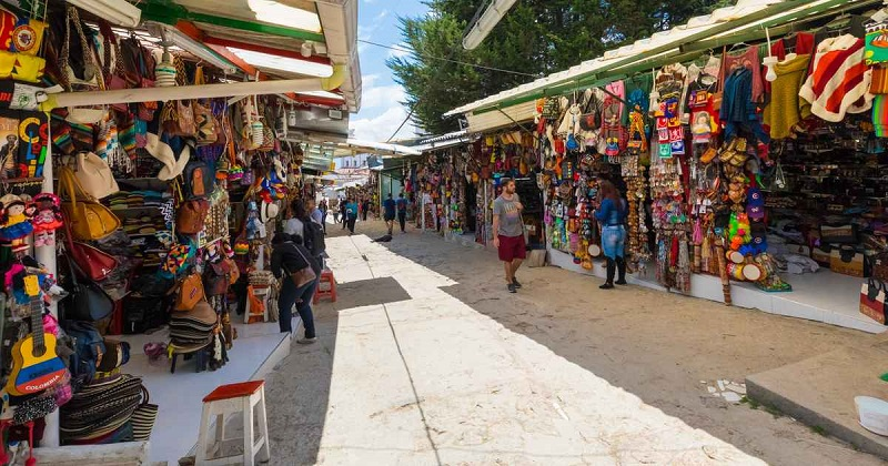 Feira para comprar lembrancinhas e souvenirs em Bogotá