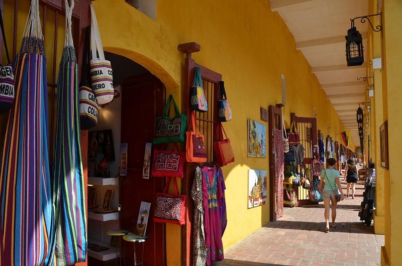 Las Bóvedas em Cartagena