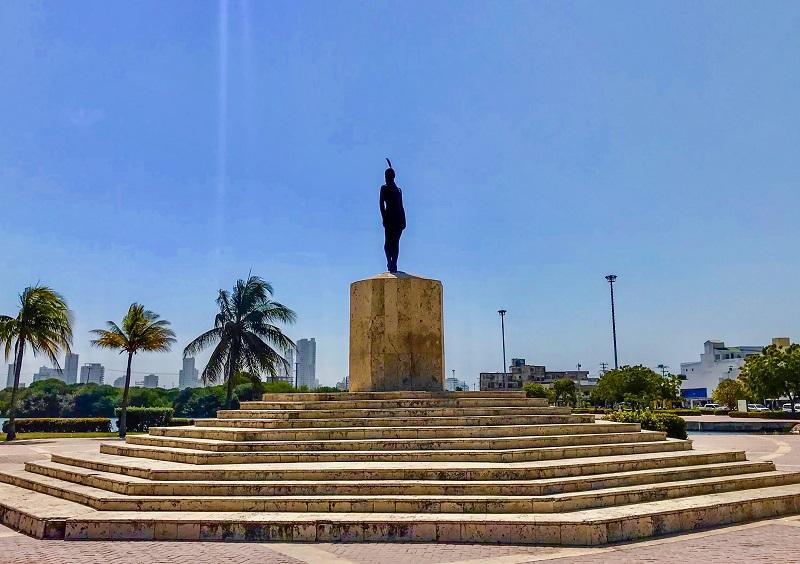 Monumento La India Catalina em Cartagena