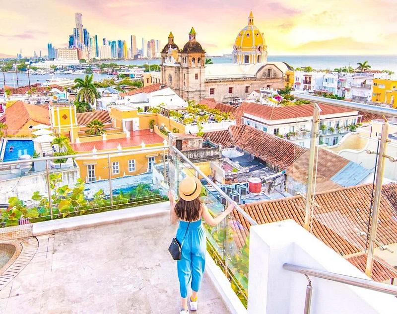 As melhores fotos para tirar em Cartagena