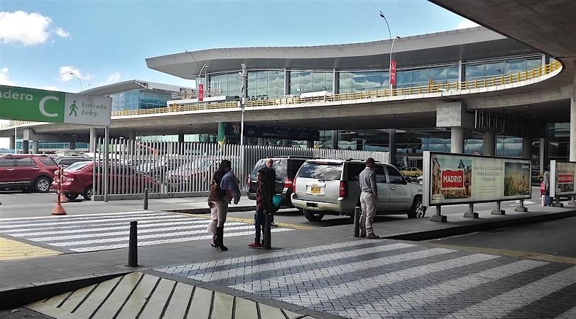 Transfer do aeroporto de Bogotá ao centro turístico