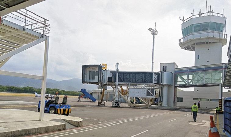 Transfer do aeroporto de Santa Marta ao centro turístico
